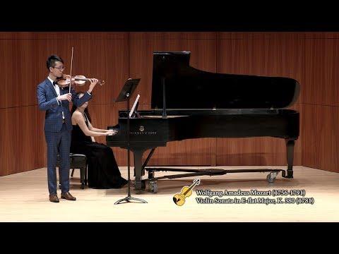 Ming-hang Tam - Mozart Violin Sonata in E-flat Major, K. 380 (1781)
