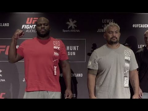 Fight Night Auckland: Media Day Faceoffs