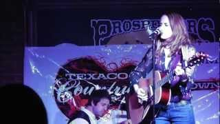 Kristen Campbell - Sin Wagon (Dixie Chicks) Cover -  Texaco Country Showdown Round One