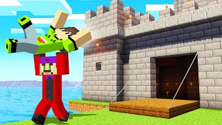 I Got KIDNAPPED From My CASTLE! (Minecraft Survival)