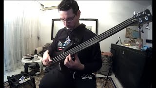 Jaco Pastorius - Chromatic Fantasy (bass cover)