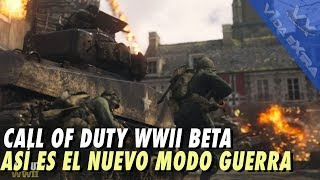 Call of Duty WWII - Modo Guerra 20 minutos de gameplay