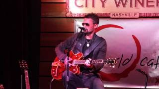 Eric Church - Like A Wrecking Ball - City Winery, Nashville, 10-27-16