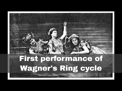 13th August 1876: The premiere of Wagner's complete Ring cycle takes place in Germany
