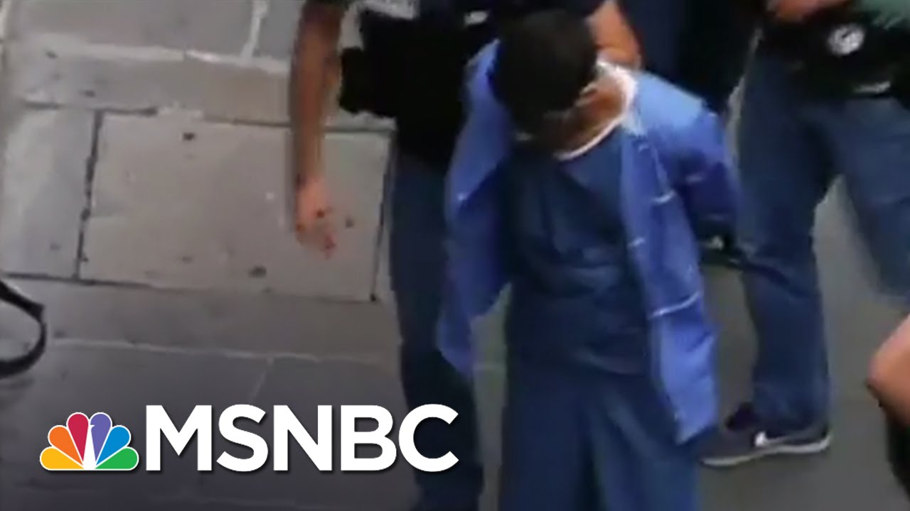 New Video Of Paris Train Attack Suspect | MSNBC thumbnail