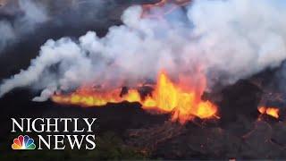 Hawaii's Kilauea Lava Destroys More Homes | NBC Nightly News