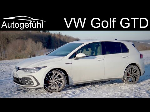 all-new VW Golf GTD FULL REVIEW 2021 Golf 8 performance Diesel