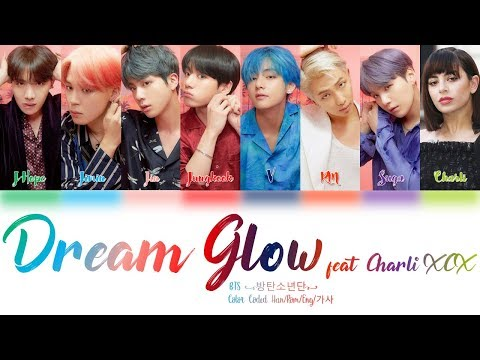 BTS (방탄소년단) & Charli XCX - Dream Glow (BTS WORLD OST Part 1) Lyrics Color Coded (Han/Rom/Eng) - Hansa Creative