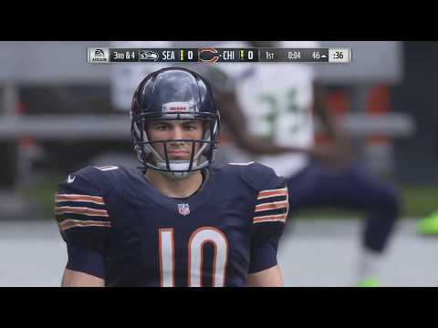NFL Monday Night Football 9/17 - Seattle Seahawks vs Chicago Bears – NFL Week 2 (Madden 19)