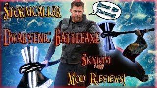 Stormcaller - Dwarvenic Battleaxe, Skyrim Mod Review