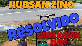 Battery draining quickly Hubsan Zino/ Bateria acabando rápido Hubsan Zino Resolvido ????????????