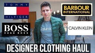 HUGE DESIGNER MENS CLOTHING HAUL & TRY ON (£750+)