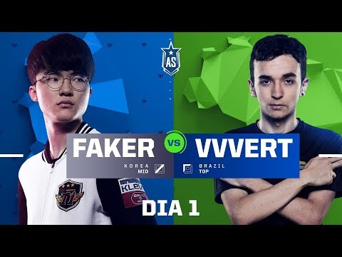 Faker x VVvert (All-Star 2017 - 1x1)