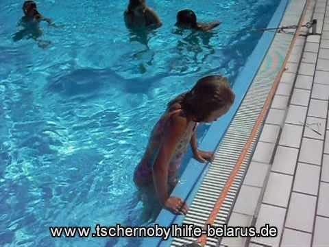 Sommeraufenthalt 2010, Rüdesheim, Schwimmbad