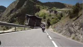 preview picture of video 'Pyrenäen 2011 - CS 340 - Col d'Ordino (Andorra)'