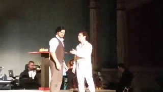 CHESS The Musical -  Talking Chess - Andreas Pantazis as Anatoly  & Zack Wheeler as Freddie