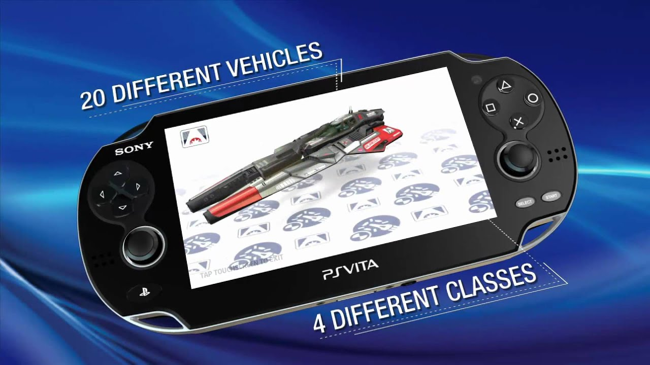 WipEout 2048 Out Today for PS Vita, Meet the Ships