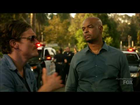 "Lethal Weapon S02 Ep06 - ""Rooog, I'm just kidding...come on, you know I love ya!"""