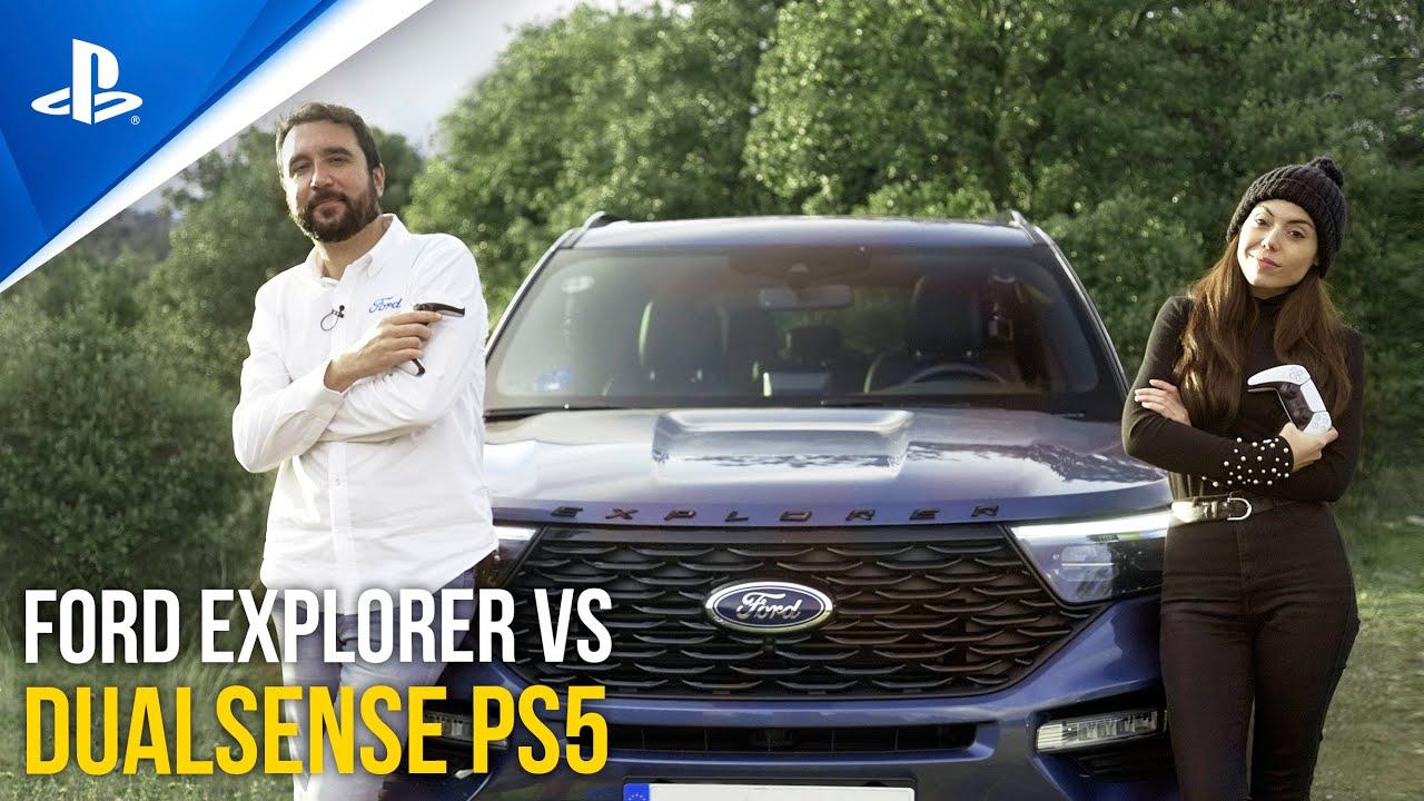 PS5 Ford Explorer | Comparamos las sensaciones al volante del nuevo híbrido enchufable con las del mando DualSense