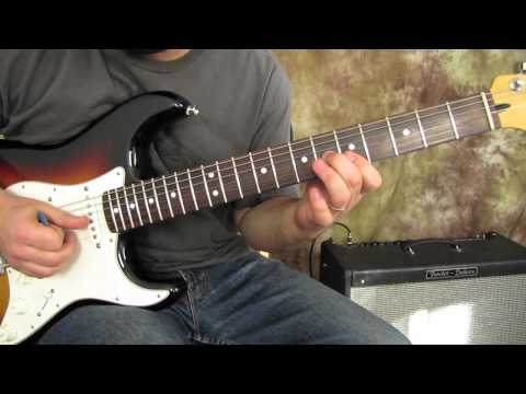 blues and Rock Guitar Lesson - Land of A7 - Advanced and Intermediate Chords for comping