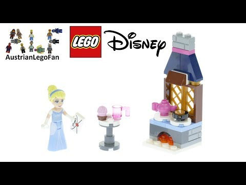 Vidéo LEGO Disney 30551 : La cuisine de Cendrillon (Polybag)