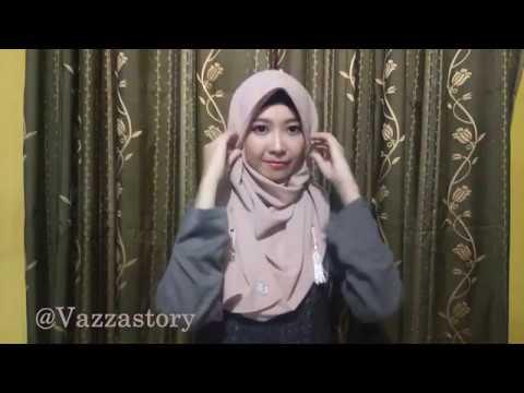 Video Tutorial Hijab Haifa Tassel Instan