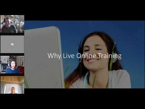 Getting started with live online training with Gaelle Watson - YouTube