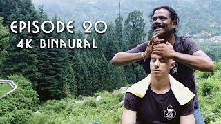 💆♂️ World's Greatest Head Massage 44 - 4K Bonus - BINAURAL - Baba The Cosmic Barber & ASMR Barber