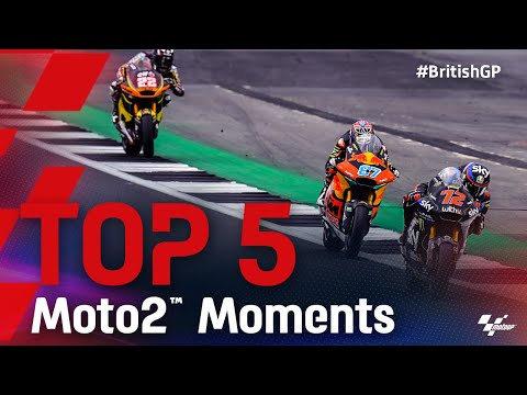 Moto2 2021 第12戦イギリス ハイライト動画