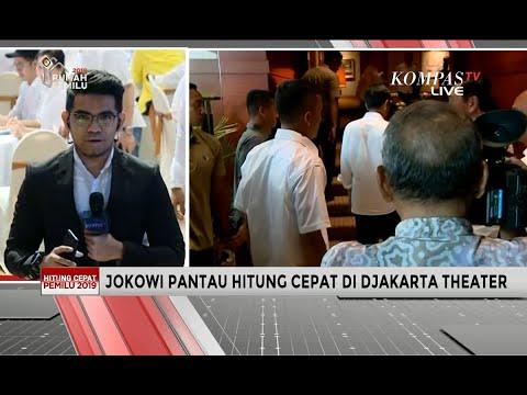 Pantau Hasil Hitung Cepat, TKN Optimis Jokowi-Ma'ruf Unggul di Pilpres 2019
