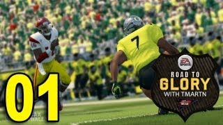 NCAA 14 Road to Glory Part 1 - High School (Let's Play / Walkthrough / Playthrough)