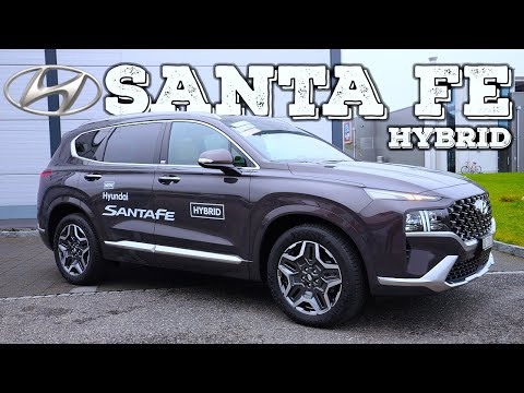New Hyundai Santa Fe Hybrid 2021 Review Interior Exterior