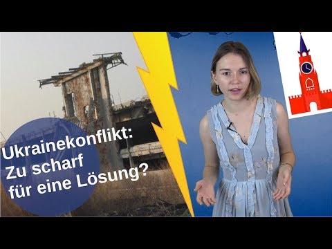 Ukrainekonflikt: Zu scharf für eine Lösung? [Video]