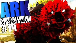 ARK Survival Evolved - MEATYLOCK, THE RESURRECTED SAVAGE, NEXUS TIER Modded #14 - ARK Mods Gameplay