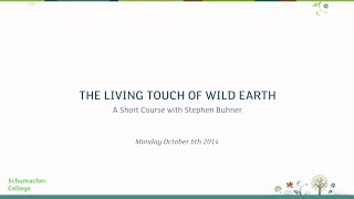 """The Living Touch of Wild Earth"""