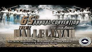 DAY 4  SERVICE OF SONGS - RCCG 65TH ANNUAL CONVENTION 2017 - HALLELUJAH