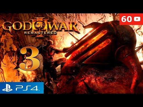 God of War 3 Remastered PS4 Kratos vs Hades Boss Walkthrough Parte 3 Gameplay Español 60fps