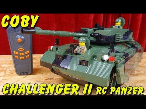 """""""COBI RC PANZER CHALLENGER II FERNGESTEUERT 1:24 (KEIN LEGO)"""" -Vorstellung"""