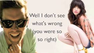 Where Did We Go- Andrew Allen Ft. Carly Rae Jepsen LYRICS