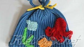 5fe57aca62b Πλεκτο Καλοκαιρινο Σκουφακι με Βελονακι μερος 2ο Crochet Deep Blue Sea Hat  Part 2