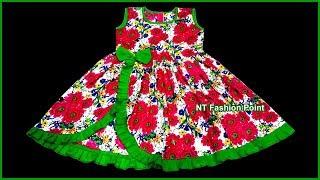 New Pattern Design Baby Girl Frocks | New Style Sweet Baby Kids Cotton Summer Modern Dress