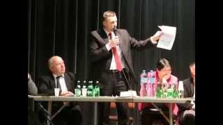 Spotkanie przedwyborcze w Dukli - Łukasz Adamski