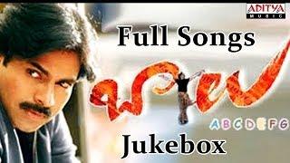 Balu Telugu Movie ~ Full Songs Jukebox ~ Pawan Kalyan, Shreya