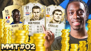 WE BUILT A 2 MILLION COIN TEAM!?😲🥶RVP JOINS THE CLUB! MMT FIFA 22 EP #2 #YouCantStopTheShine 🌟