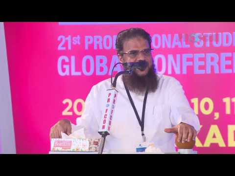 PROFCON 2017 : From Troubled Times to Happy Haven : Hussain Salafi