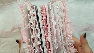 Shabby Chic Stamperia Pink Wedding Journal For Scrapbooking With M.E.