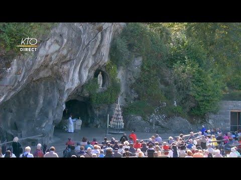 Chapelet du 7 septembre 2020 à Lourdes
