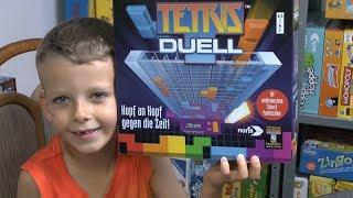 Tetris Duell (Noris) - ab 8 Jahre ... und zwar mit Elektronik!