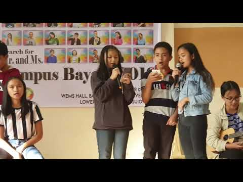 acoustic session from pines city national high school for kampus bayani 2019