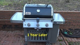 Weber GENESIS II E-310 Propane Gas Grill with iGrill 3 (1 Year Later)